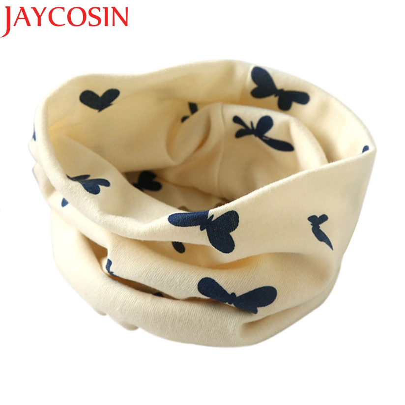 JAYCOSIN Autumn Winter Ring Boys Girls Collar Baby Scarf Cotton O Ring Neck Scarves drop Shipping -S20 drop Shipping