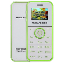 Mini MELROSE M1 1.0 Inch OLED Screen Card Child Cell Phone MP3 Playback BT FM Sound Recorder Alarm Calculator SIM Mobile Phone