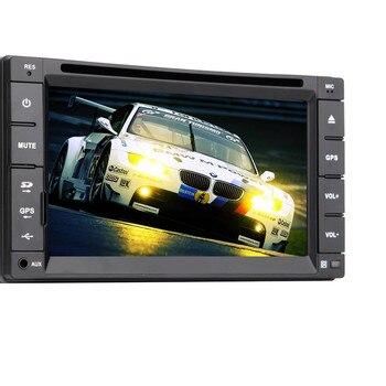 PC receptor de FM win8 3D GPS DVD de coche de 6,2 pulgadas en cubierta pantalla táctil capacitiva estéreo MP4 RDS MP5 música USB Video Radio