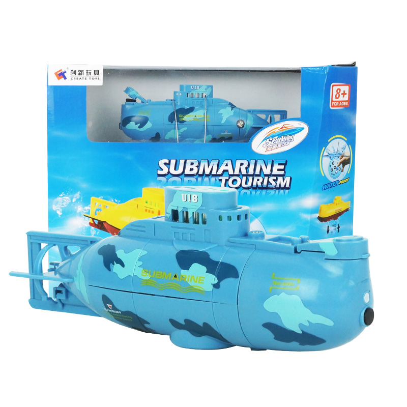 submarine simulation submarine charging move remote control toy boat ship mini funny fish swimming waterproof model rc submarine