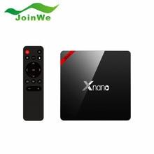 Original X96 Pro Android TV Box Android 6.0 Amlogic S905X Inteligente Tv Box Quad Core 1G + 8G/2G + 16G BT 4.0 4 K Medios jugador