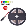 LED Strip Light Waterproof IP65 SMD5050 60LED/m 5m Flexible LED Lamp Single Color DC12V Warm White,Red,Blue,Green,White,Yellow