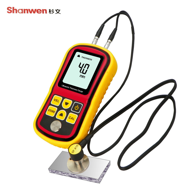 GM100 Digital Thickness Gauges Ultrasonic Thickness Gauge Measuring Instruments Tester Metal Diagnostic-tool