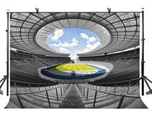 150x220cm Football Field Backdrop European Luxury Stadium Photography Background for Camera Photo Props