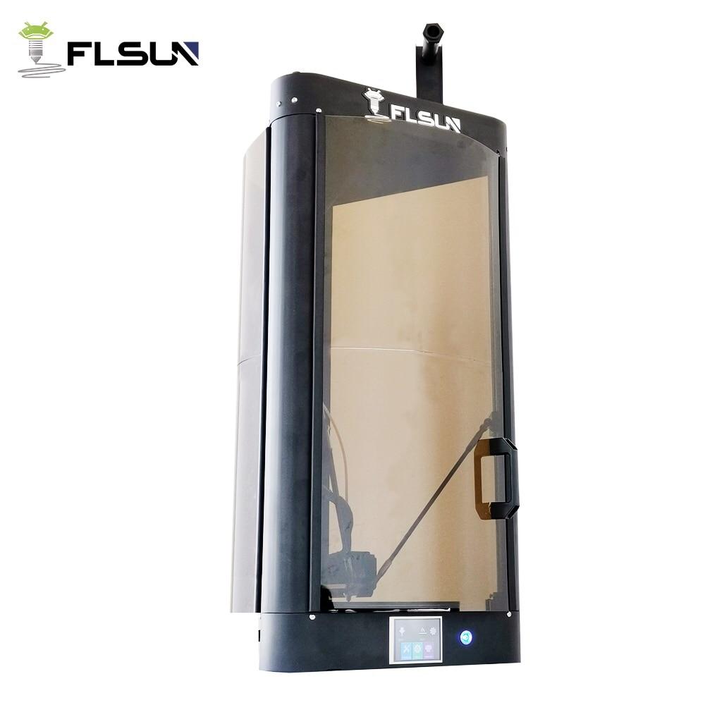 2019 FLSUN QQ S High speed Delta 3D Printer, Large Print Size 255*360mm kossel 3d Printer auto leveling touch screen Wifi module
