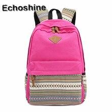 7 цветов Лидер продаж OverSize Мужская и женская рюкзак модные винтажные холст рюкзаки рюкзак школьный ранец дорожная сумка Bookbag B05
