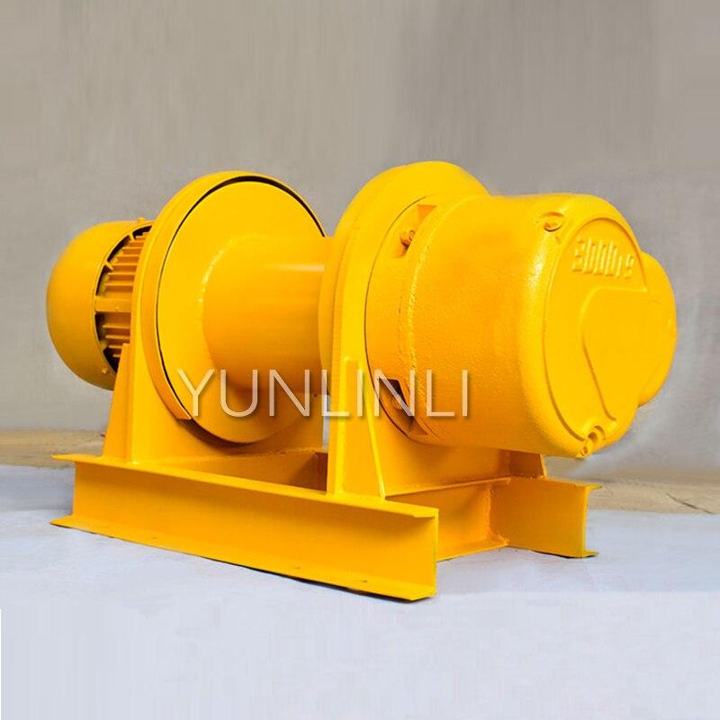 380v Hoist 1 Ton Heavy Construction Hoist Mine Marine Crane Electric Hoist 1T Bare Metal