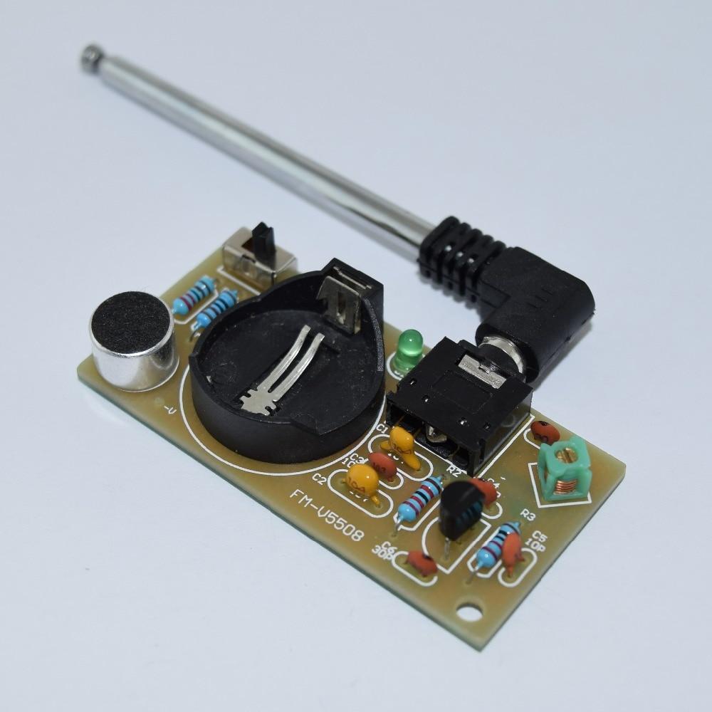 Fm Transmitter Block Diagram Explanation Simple Fm Transmitter