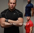 2016 new style Men's t-shirt Quick Dry Breathable Fitness T-shirts men Jersey  Shirt Jerseys free shipping