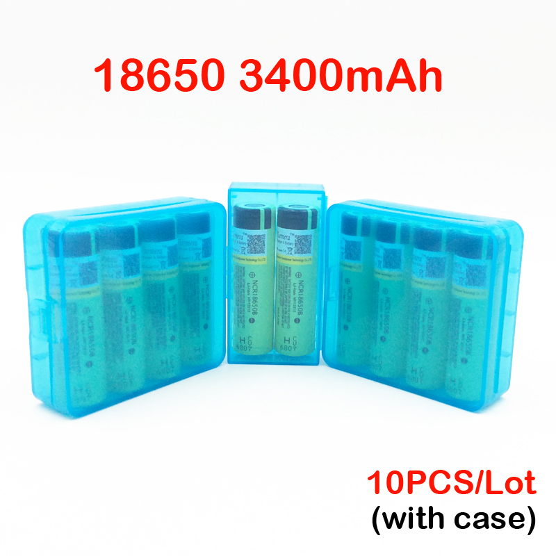 original ncr18650b 18650 battery 3400mah 3.7V 18650 3400mah rechargeble battery ncr18650b