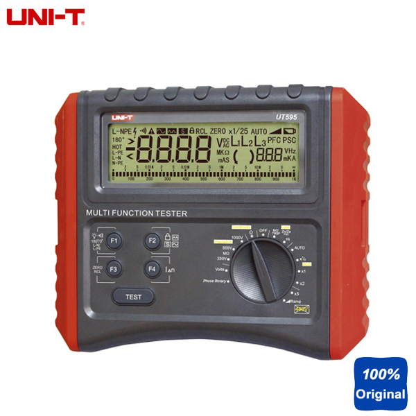 Ground Impedance Tester : Uni t ut multifunction loop testers earth ground line