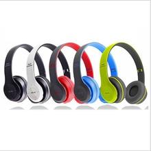 Cancelación de Ruido Auriculares Bluetooth 4.1 Auriculares Diadema Auricular Inalámbrico de Manos Libres Portátil Plegable Deporte Auriculares P47