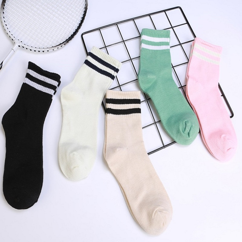 1Pair Girls Boys Football Stripes Sports Casual Socks Skate Children Baby Leg Warm Clothing Accessories Toddler Kids Foot Wear