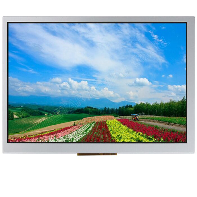 Winstar display WF80QTIFGDBN0 8 inch TFT with LCD Controller Board display 800 x 480 New and original 8 4inch 8 4 non touch industrial control lcd monitor vga interface white open frame metal shell tft type 4 3 800 600