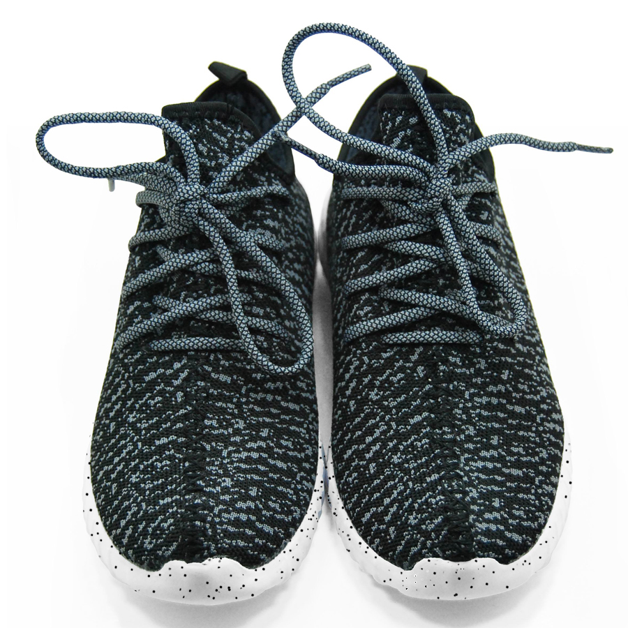 16 new black color sport shoes woman and man,new idea computer woven breathable sneakers woman & man,comfortable shoes 3