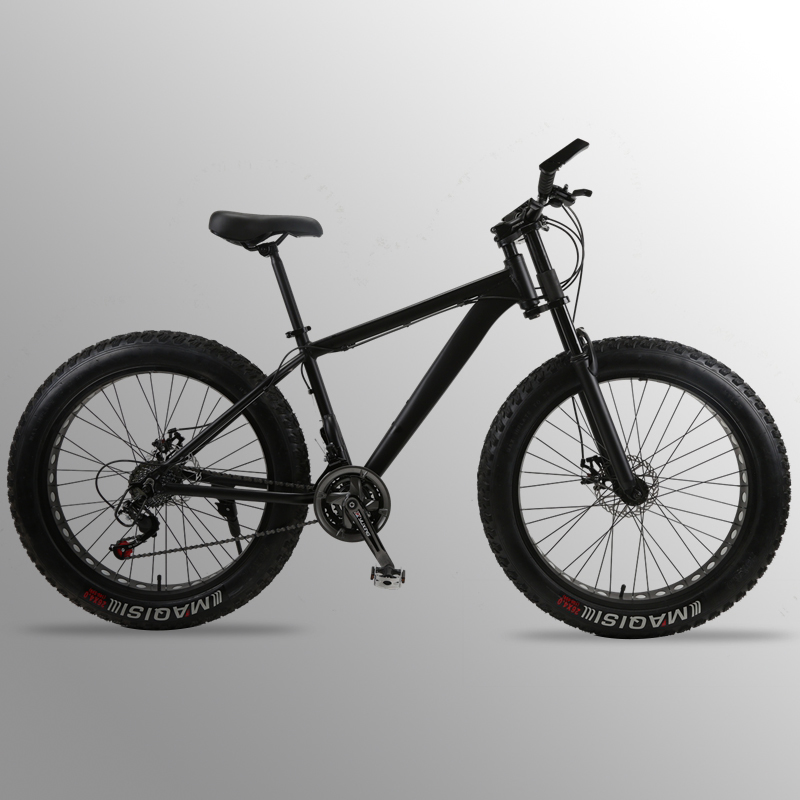 """wolf s fang bicycle Mountain Bike road bike Aluminum alloy frame 26x4 0 7 21 24speed wolf's fang bicycle Mountain Bike road bike Aluminum alloy frame 26x4.0"""" 7/21/24speed Frame Snow Beach Oversized Bicycle Bikes"""