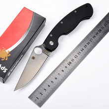 Hot selling C36 G10 handle CPM-S30V blade 58HRC folding knife outdoor camping survival tool gift Tactical knives