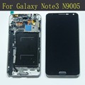 Проверены На Samsung Galaxy Note 3 N9005 ЖК-Дисплей с Сенсорным Экраном с Дигитайзер + Рамка Ассамблея рамка