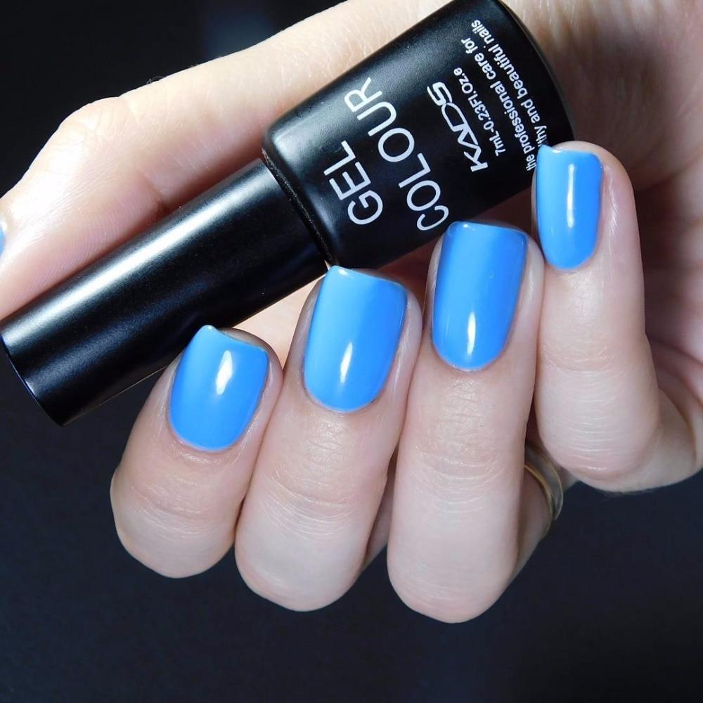 KADS 7ml LED UV Nail Gel Long Lasting Gel Lacquer DIY Nail Art Colorful Nail Gel UV Gel Set UV LED Lamp Curing