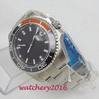 hot sale Fashion Stainless Steel Man Automatic Analog Wrist Watch Men's Watch love's Watches Sapphire Glass Date Ceramic Bezel