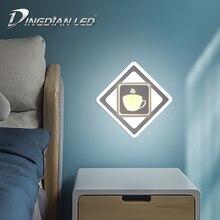 цены DINGDIAN LED 100-240V Wall Lamp Modern Wall Light Fixture Simple Lights & Lighting 32W Living Room Decoration Warm+Cold White