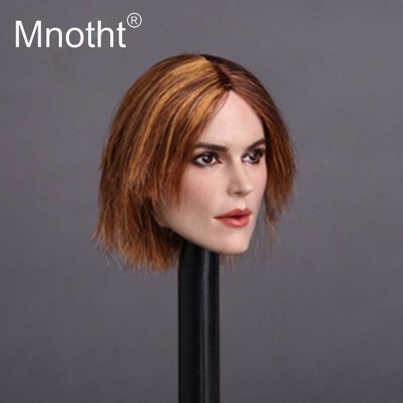 Mnotht Toys 1/6 Scale GC007 Keira Knightley Head Sculpt Female Soldier Head Carving for 12 Inches Bodies Toys Gifts Collections 1 6 scale american president abraham lincon head sculpt for 12 inches male bodies dolls figures collections toys gifts
