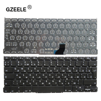 Russian Laptop Keyboard For Apple Macbook Pro 13 A1502 ME864 ME865 ME866 RU Replacement Keyboard 2013