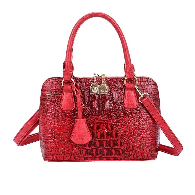 ICEV nouveau Simple Alligator croix corps sacs à main femmes marques célèbres femmes Messenger sacs pour dames mode Shell petits fourre-tout