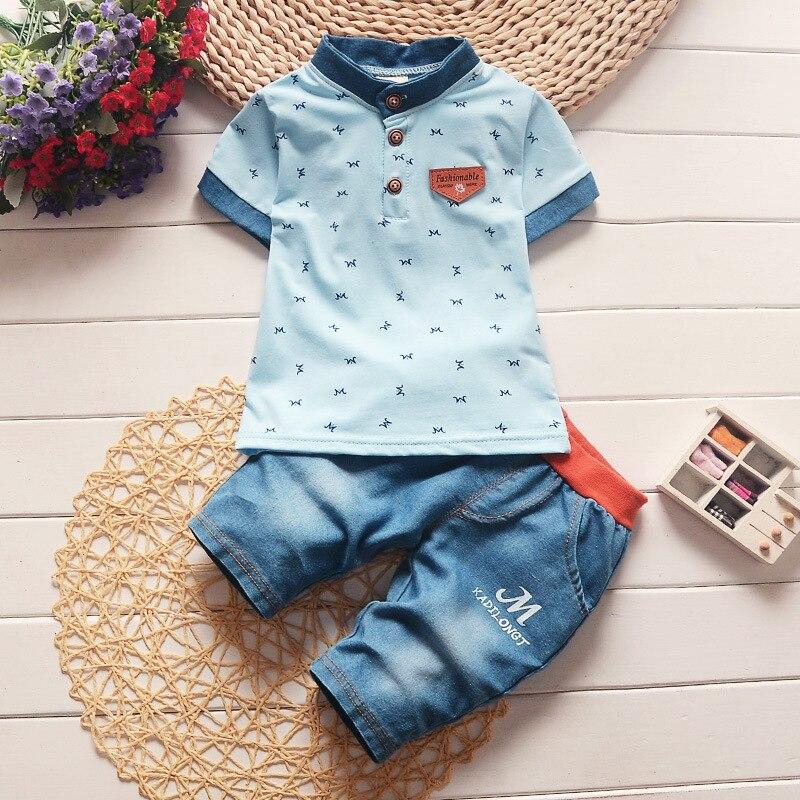 BibiCola Children Boys Clothing Sets Baby Boys Top