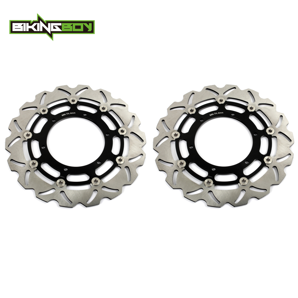 1 Pair 320mm Front Brake Discs Rotors for YAMAHA YZF R7 750 1999 2001 FJR 1300