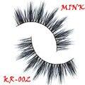 Frete grátis KR-002 alta qualidade tira charmingmink triple camadas mink cílios lashes grosso longo fofo