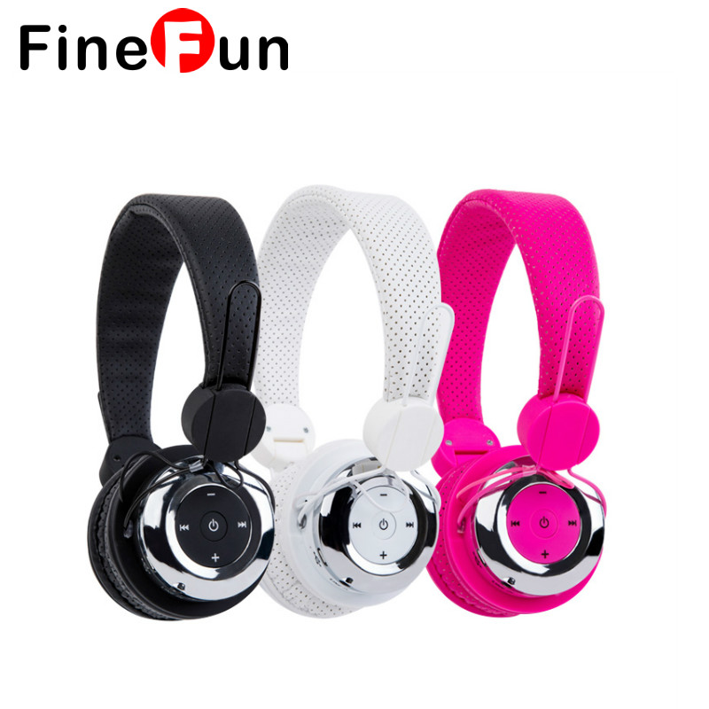 FineFun Wireless Headset Bluetooth Stereo Earphones High Capacity Battery Headphones For A Mobile Phone Laptop Andriod MP3 юбка oasis oasis oa004ewpsx61