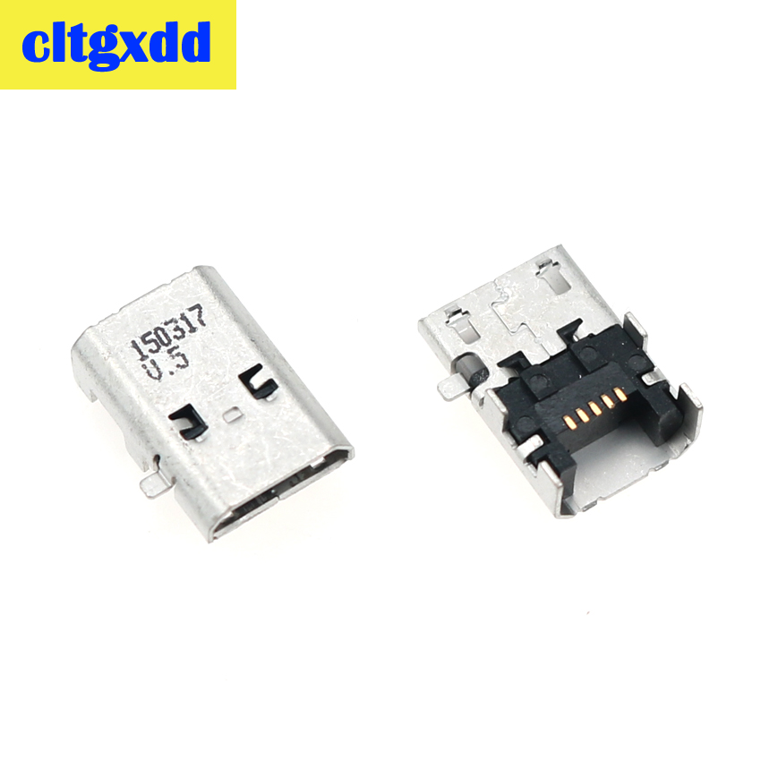 Cltgxdd Micro USB Charging Socket Port Jack Connector Power Plug Dock For Amazon Kindle Fire HD 10 SR87CV HD 8 SG98EG Tablet PC