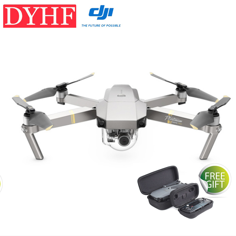 In stock! DJI Mavic Pro Platinum OcuSync Transmission FPV With 3Axis Gimbal 4K Camera Obstacle Avoidance RC Quadcopter Drone