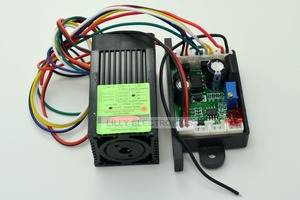 Image 2 - 12V 532nm 50mw Green DPSS Laser Dot Module Fan Cooling TTL 0 30KHZ  DIY Lab High Quality