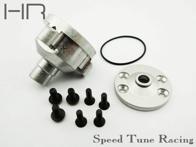 Aluminum Center differential Case for the 4wd Slash and Stampede акустика центрального канала piega tmicro center amt silver aluminum