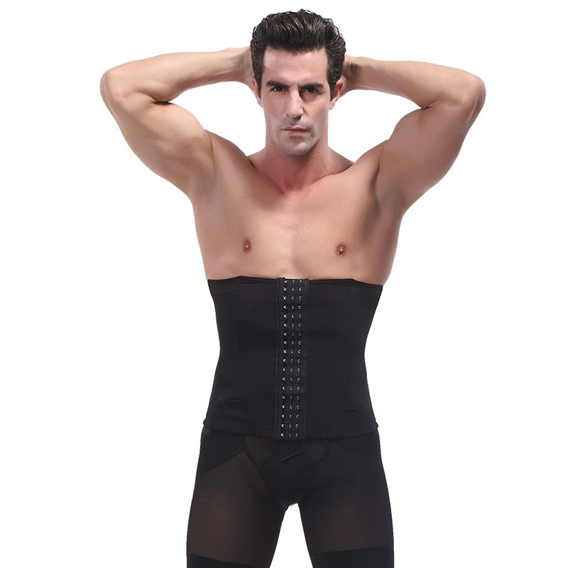 In Summer Ultrathin Slimming Losing Weight Product Body Neoprene Stomach Slimming Corset Waist Trainer Vest Men Slimming Corset slimming