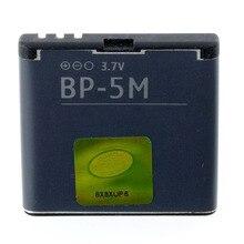 Original High Capacity BP-5M phone battery for Nokia 6220 Classic 6500 Slide 5610 5700 6500S 7390 8600 Luna 6110 Navigator