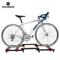 Rockbros instrutor de bicicleta rolo ciclismo ferramenta de treinamento da bicicleta exercício estação fitness bicicleta trainer ferramenta estação 3 estágios dobrável