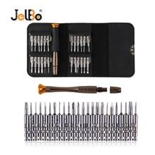 цена на Jelbo 25 in 1 Professional Cell Phones Opening Pry Repair Tool Kits Screwdriver Set Hand Tools Mobile Phone Repair Tool Kit