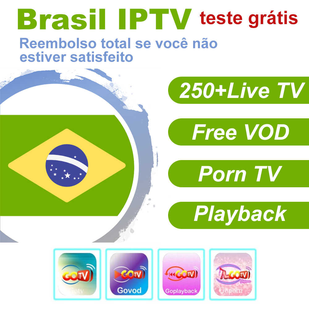 Detail Feedback Questions about 1/3/6/12 Months GoTV Brasil