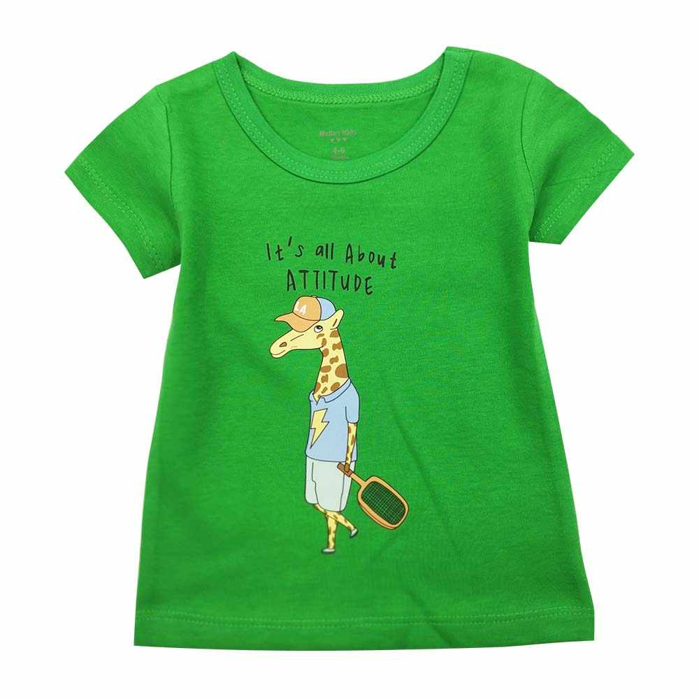 Children's clothing summer 2019 summer cotton children's short-sleeved T-shirt baby single-piece shirt men's shirt