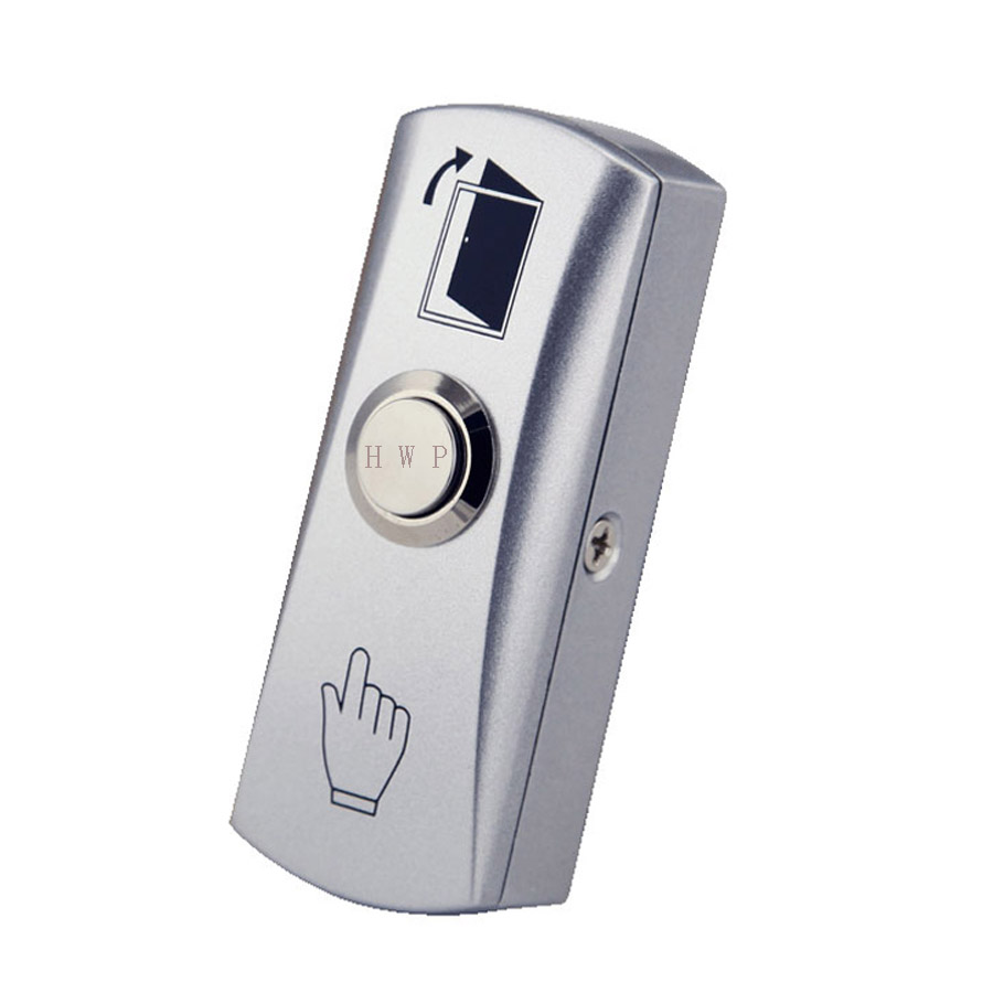 Kirsite button switch Access control push button exit push button with bottom box new one button control box switch abs weatherproof push button switch mayitr automatic gate opener switches