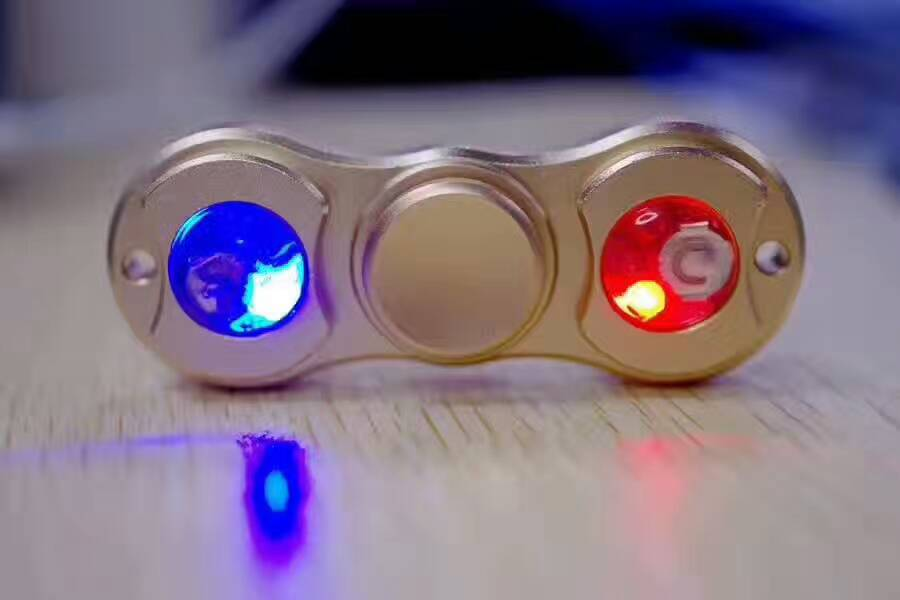 flash Fidget Spinner Hand Spinner Finger Spin Spinning Top EDC Sensory Torqbar Brass Aluminum alloy toy