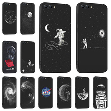 Ojeleye Fashion Black Silicon Case For Huawei Honor V20 V10 10I 8C Note 10 V9 Play 7x 9 Lite 6a Cover