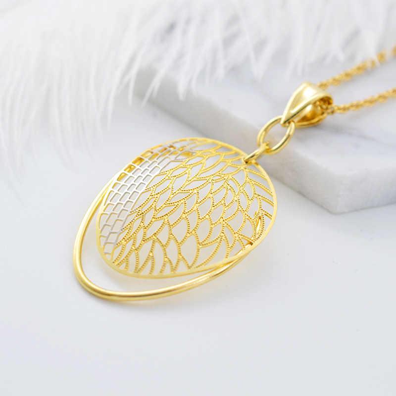 Солнечный Электрический вездеход на ДУ 2019 большие серьги подвеска ожерелье комплекты украшений для женщин листья выдолблены для вечерние, одежда на каждый день