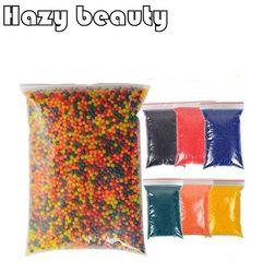 New 1bag 10000pcs hazy beauty orbeez water gun bullet water beads bio gel ball crystal soil.jpg 250x250