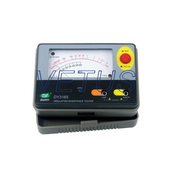 ФОТО 1000V DY3166 analog insulation tester