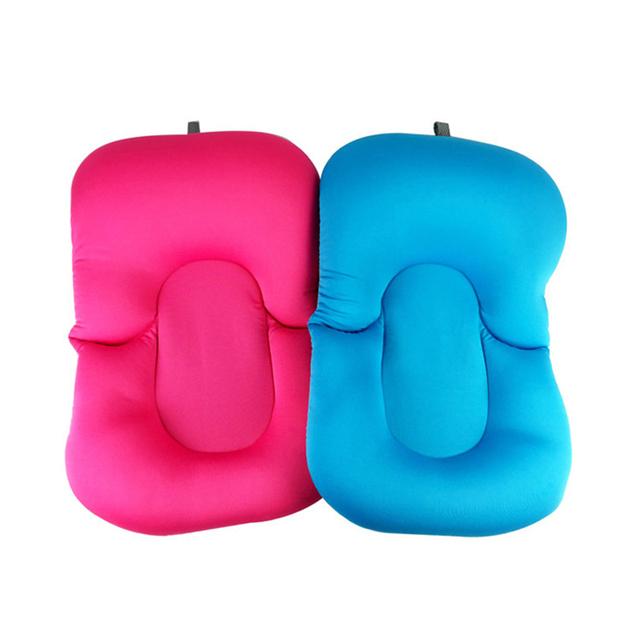 High Quality Soft Cushioned Anti-skid Bathing Mat for Newborns and Infants