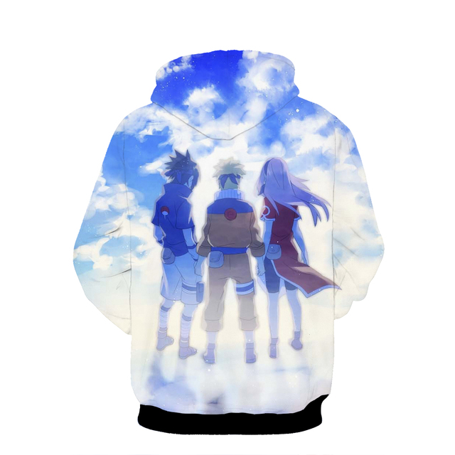 (9 Models) Naruto Sasuke Gaara Sweaters Hoodies Pullover Fashion